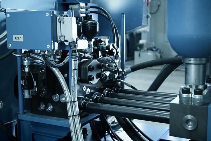 Cuscino idraulico soft impact- presse meccaniche