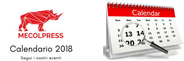 Mecolpress eventi 2018