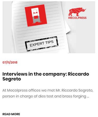 Intervista Segreto: expert tips