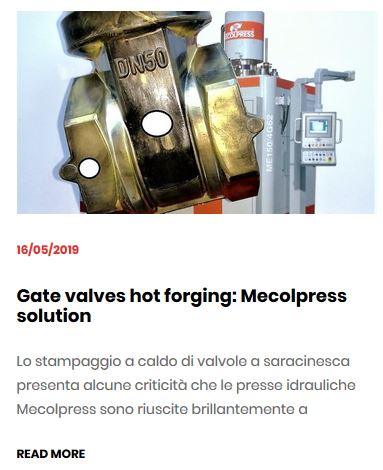 Gate valves- Mecolpress