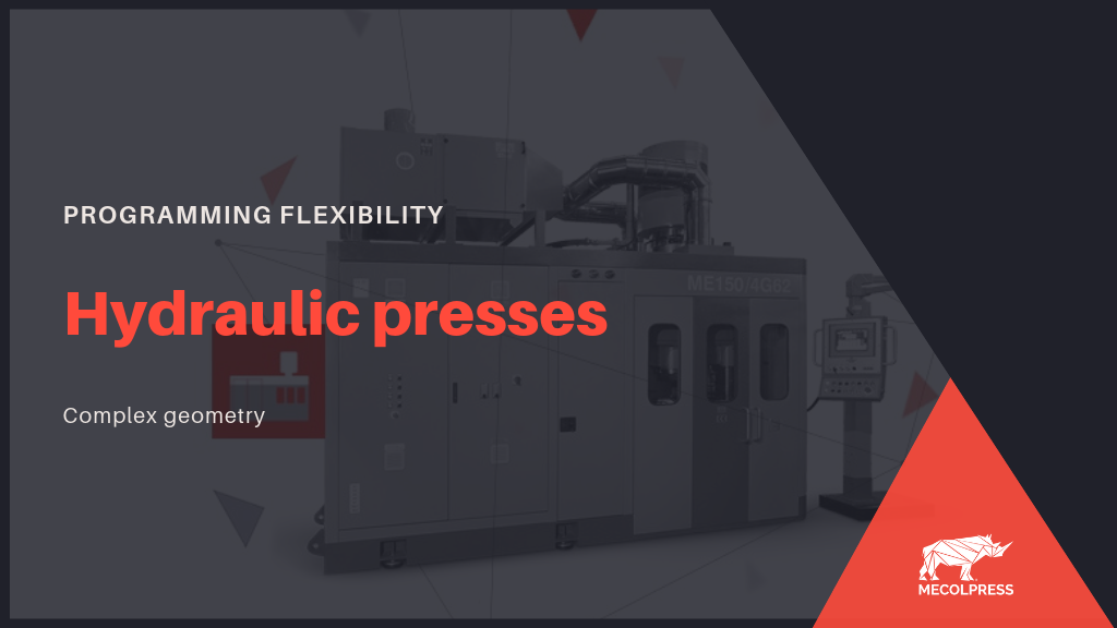 Hydraulic presses: ideal for the realization of hot forged parts with complex geometry