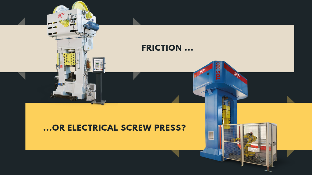 Friction & Electric Drive Screw Presses