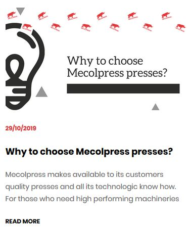choose the right press for you