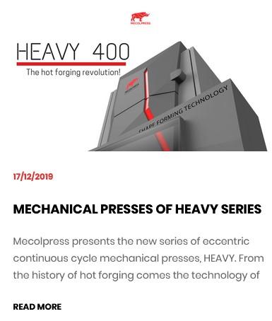 HEAVY 400 - MECHANICAL PRESS