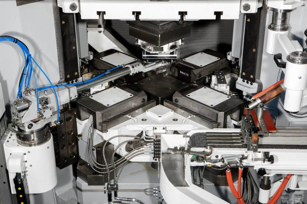 pressa meccanica Heavy- dettaglio