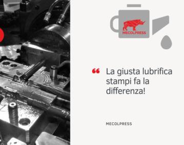 lubrificazione stampi: il successo dello stampaggio